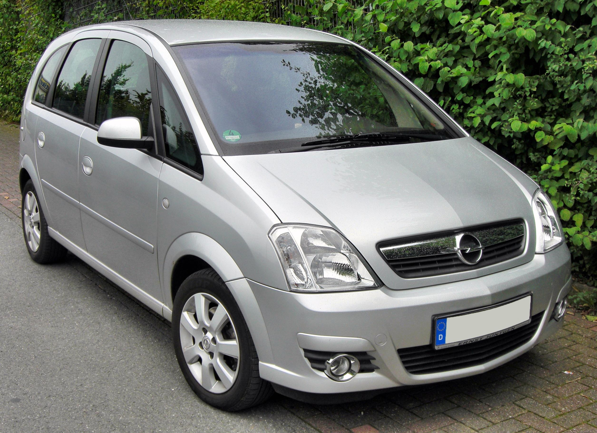 2009 opel meriva photos informations articles. Black Bedroom Furniture Sets. Home Design Ideas