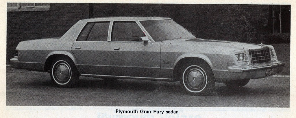 1981 Plymouth Gran Fury #17