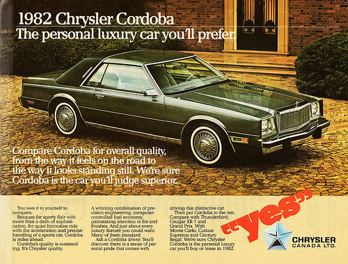 1982 Chrysler Cordoba #20