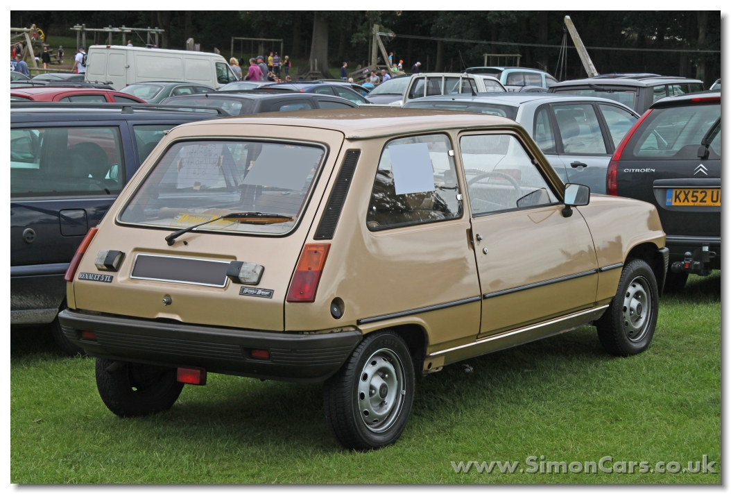 1982 renault 5 photos informations articles. Black Bedroom Furniture Sets. Home Design Ideas