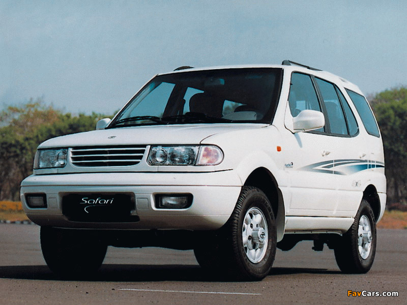 1998 Tata Safari #4