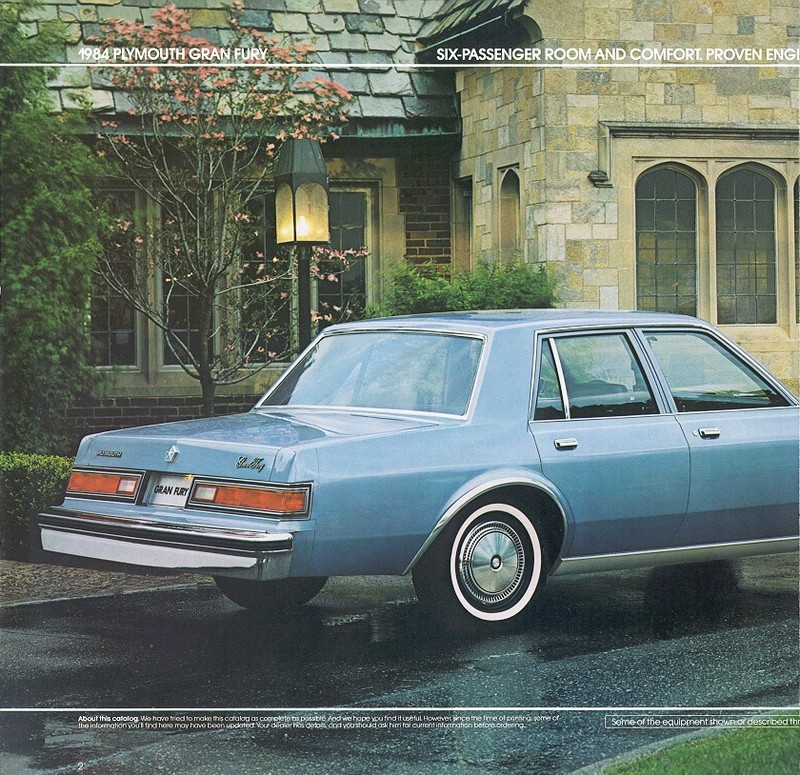 1984 Plymouth Gran Fury #15