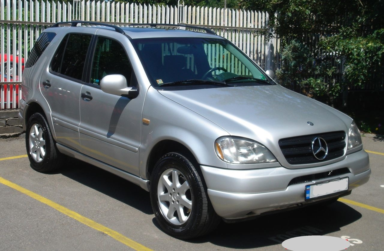1999 Mercedes Benz ML #1