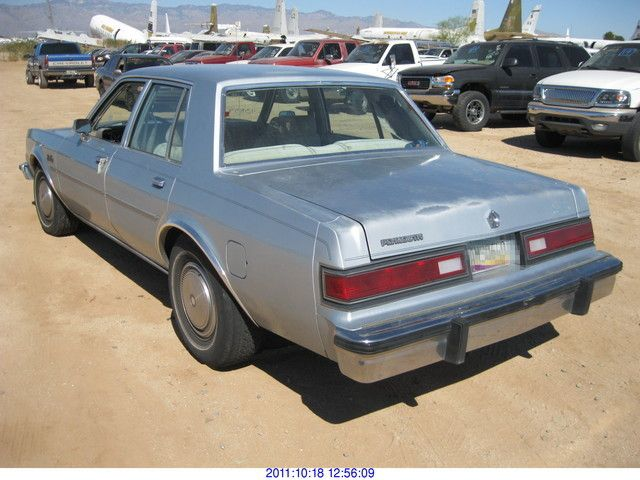 1985 Plymouth Gran Fury #20