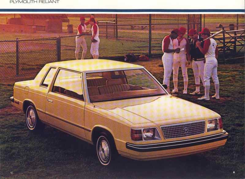 1985 Plymouth Reliant #18