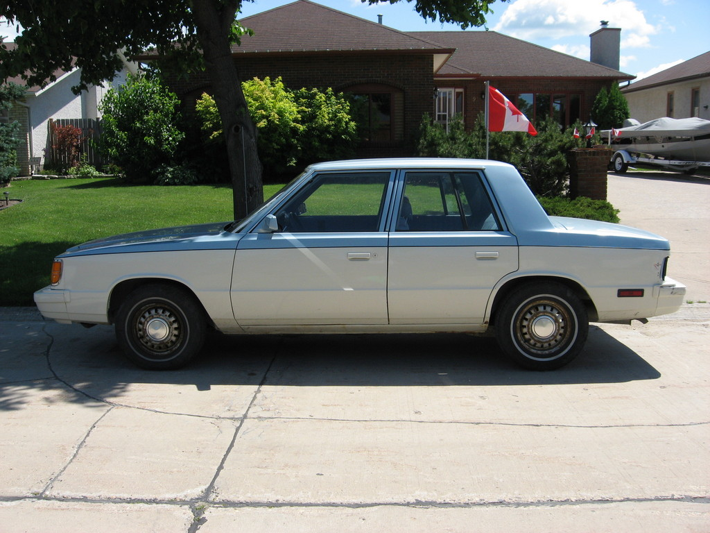 1985 Plymouth Reliant #17