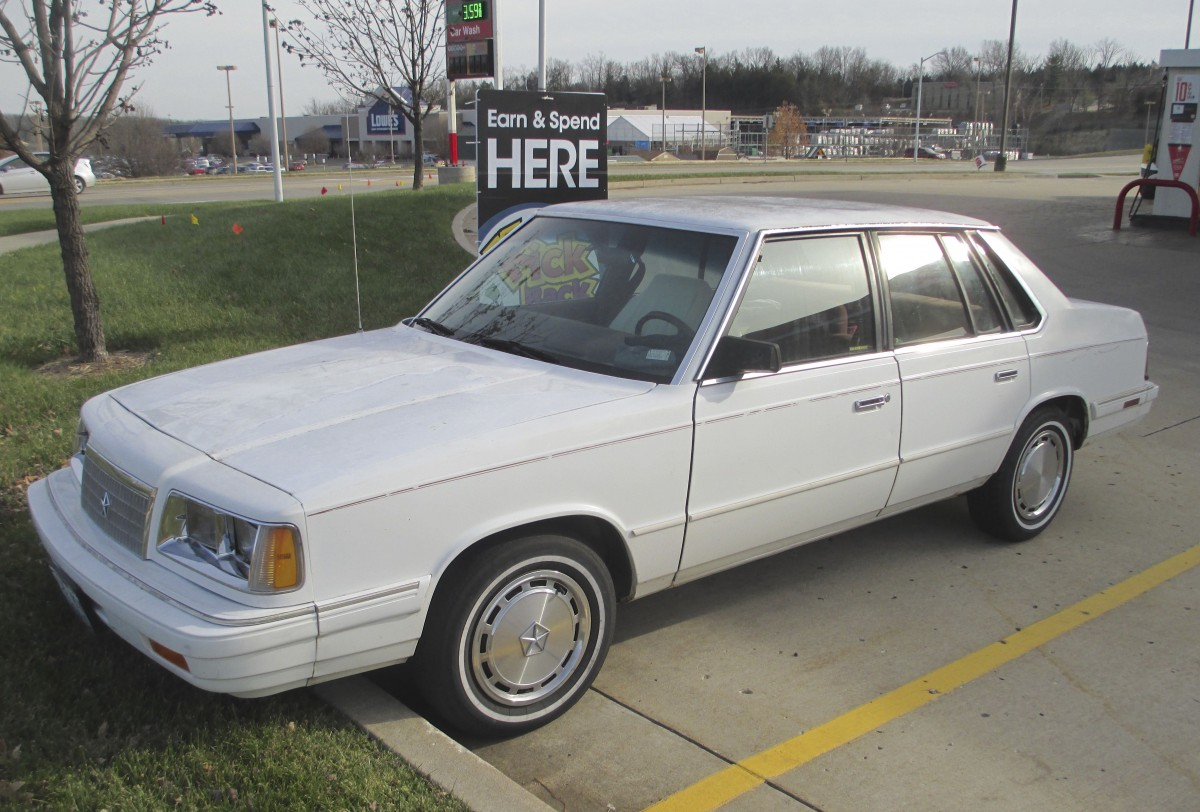 1986 Plymouth Caravelle #12