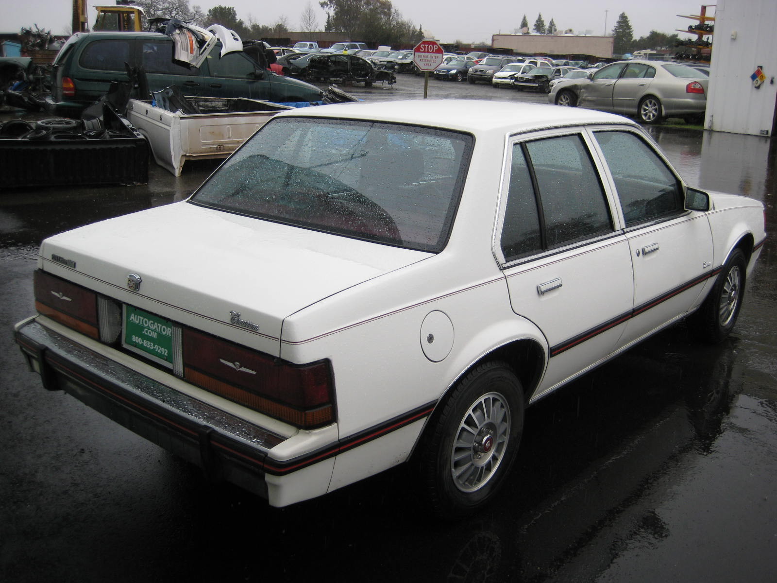 1987 Cadillac Cimarron Photos Informations Articles