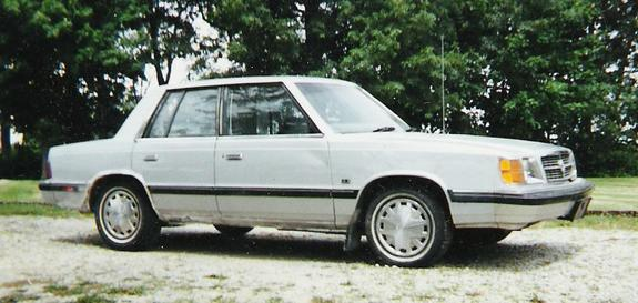 1987 Plymouth Reliant #17