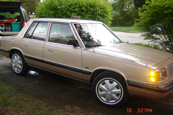 1988 Plymouth Reliant #17