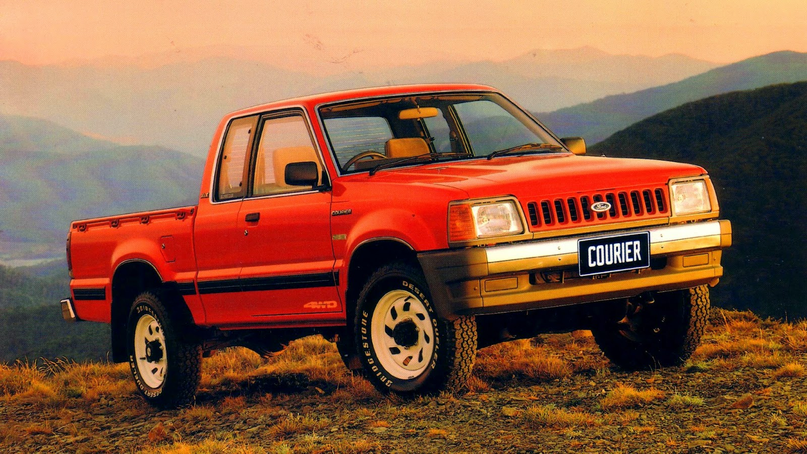1989 Ford Courier #9