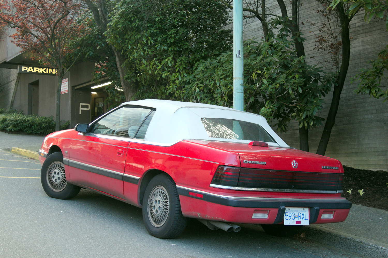 1990 Chrysler Le Baron #17