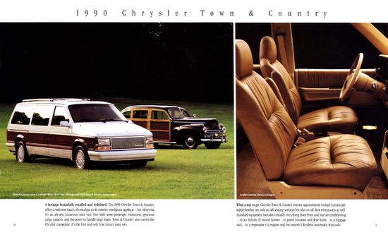 1990 Chrysler Town And Country #12