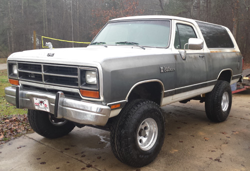 1990 Dodge Ramcharger #15