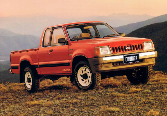 1990 Ford Courier #9