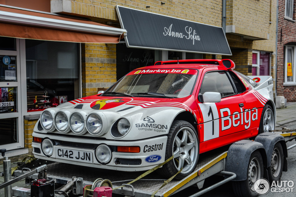 1990 Ford RS 200 #19