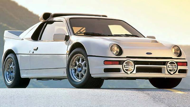 1990 Ford RS 200 #13