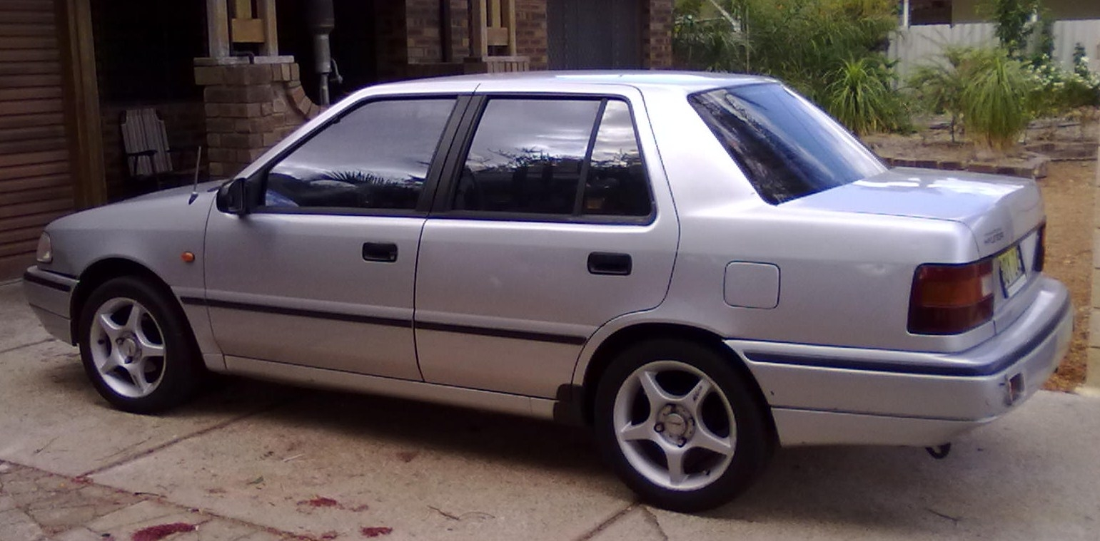 1991 hyundai excel with 1990 Hyundai Excel on 1991 Hyundai Galloper Pictures C18783 likewise File 00 02 Hyundai Accent GL sedan as well 289578 Lowrider Mustang additionally File 00 02 Hyundai Accent hatch moreover 2002 Hyundai Sonata Pictures C2191 pi36196605.