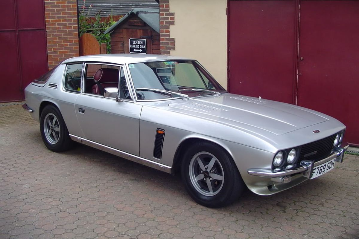 1990 Jensen Interceptor #24