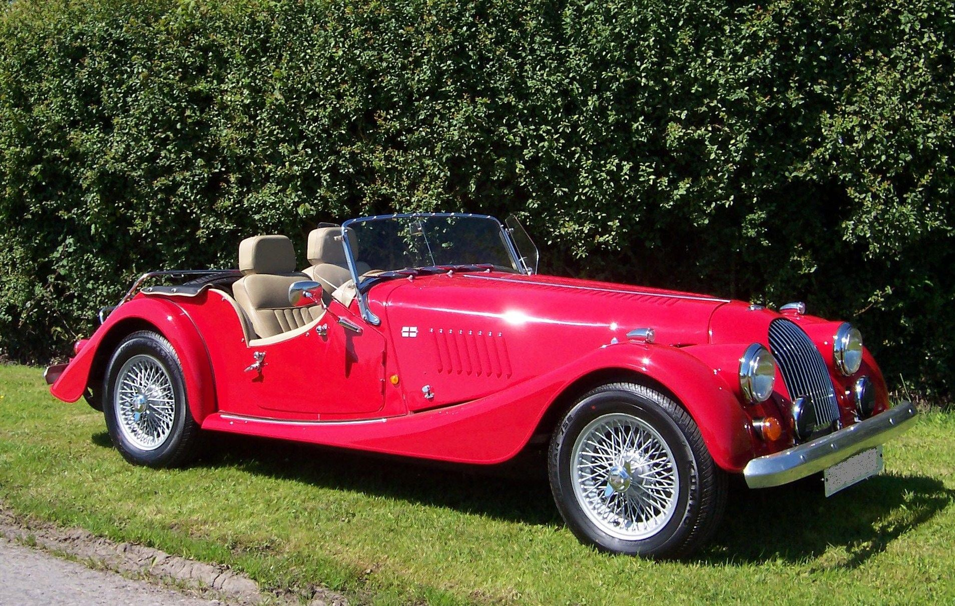 1990 Morgan Plus 4 #22