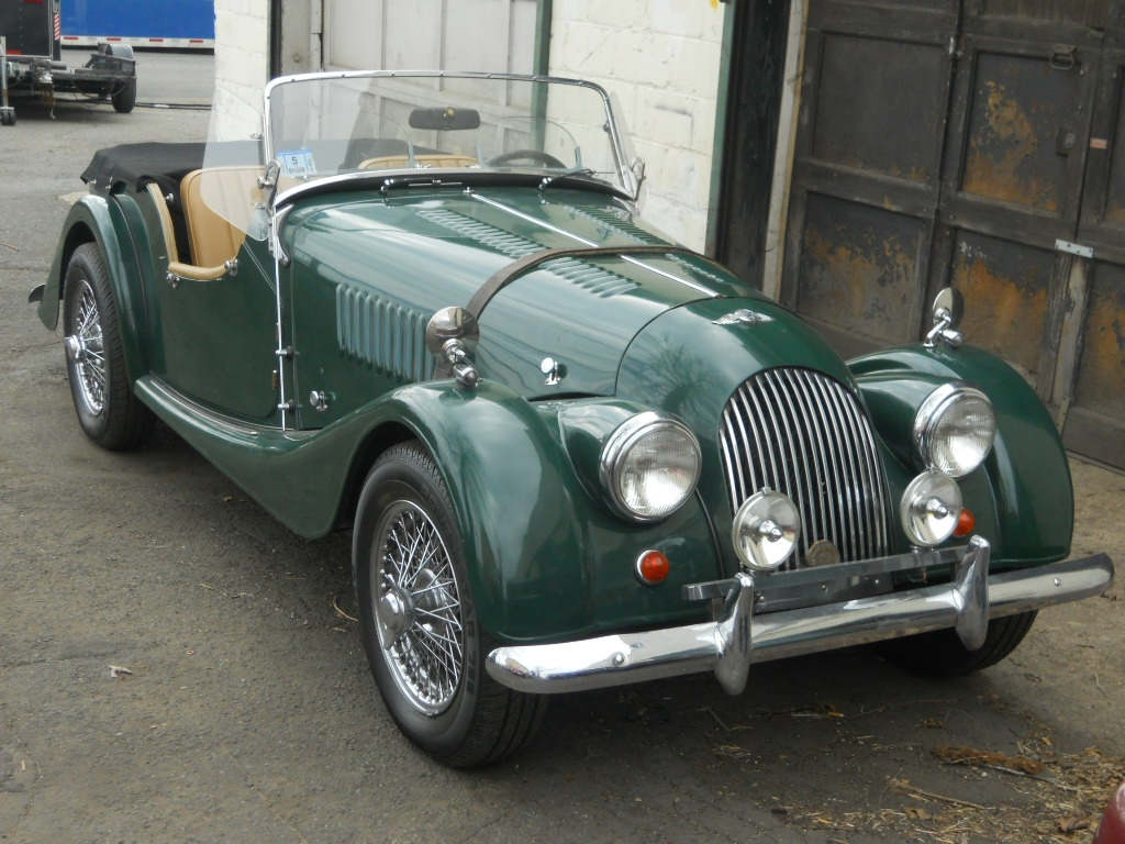 1990 Morgan Plus 4 #23