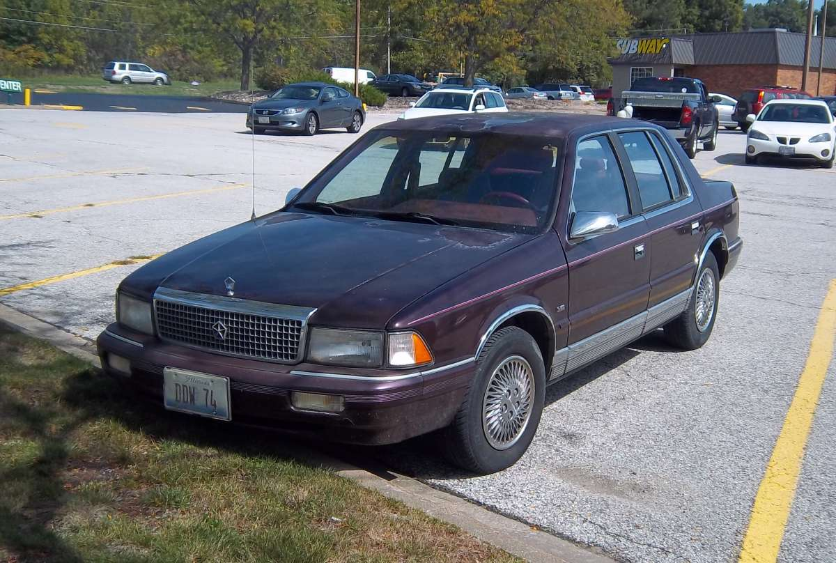 1990 Plymouth Acclaim #21