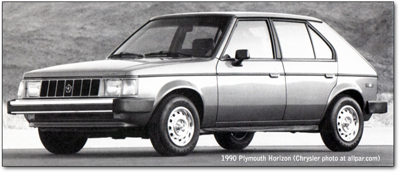 1990 Plymouth Horizon #20