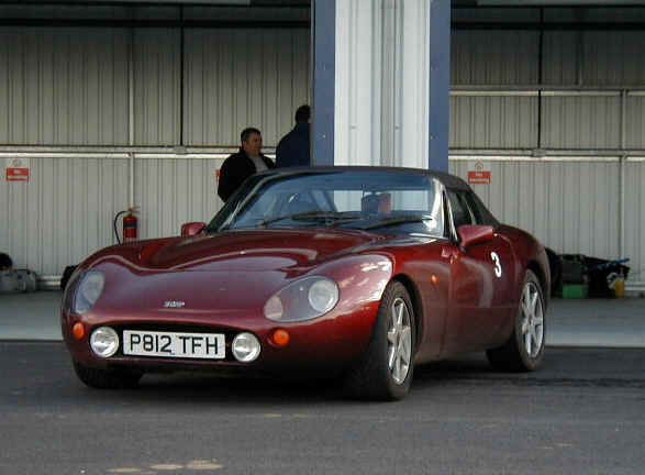 1990 TVR Griffith #17