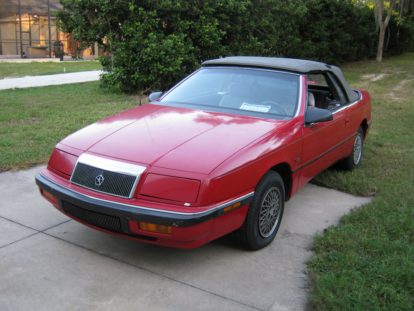 1991 Chrysler Le Baron #20
