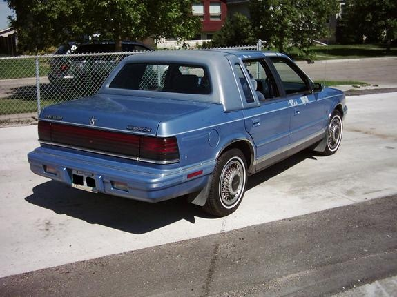 1991 Chrysler Le Baron #15