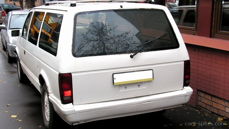 1991 Chrysler Town And Country #18