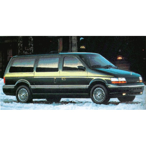 1991 Chrysler Town And Country Photos, Informations