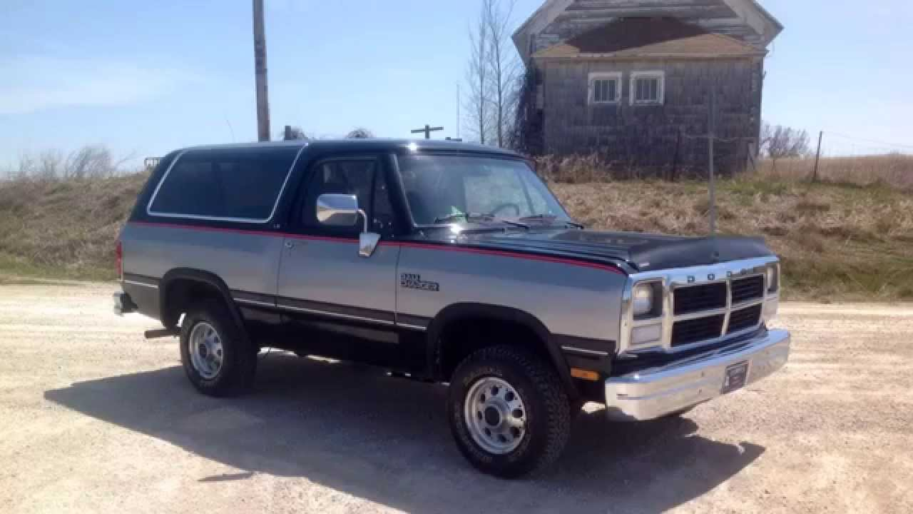 1991 Dodge Ramcharger #15