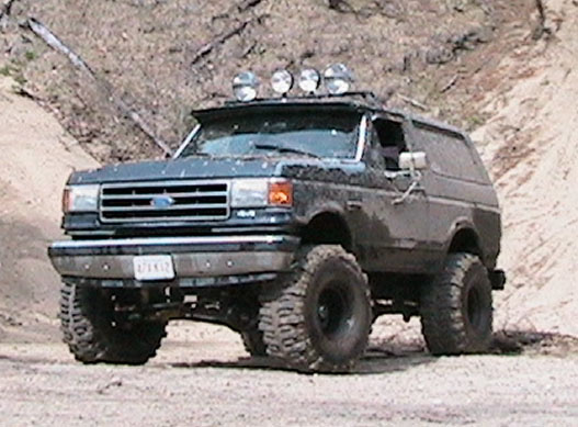 1991 Ford Bronco #18