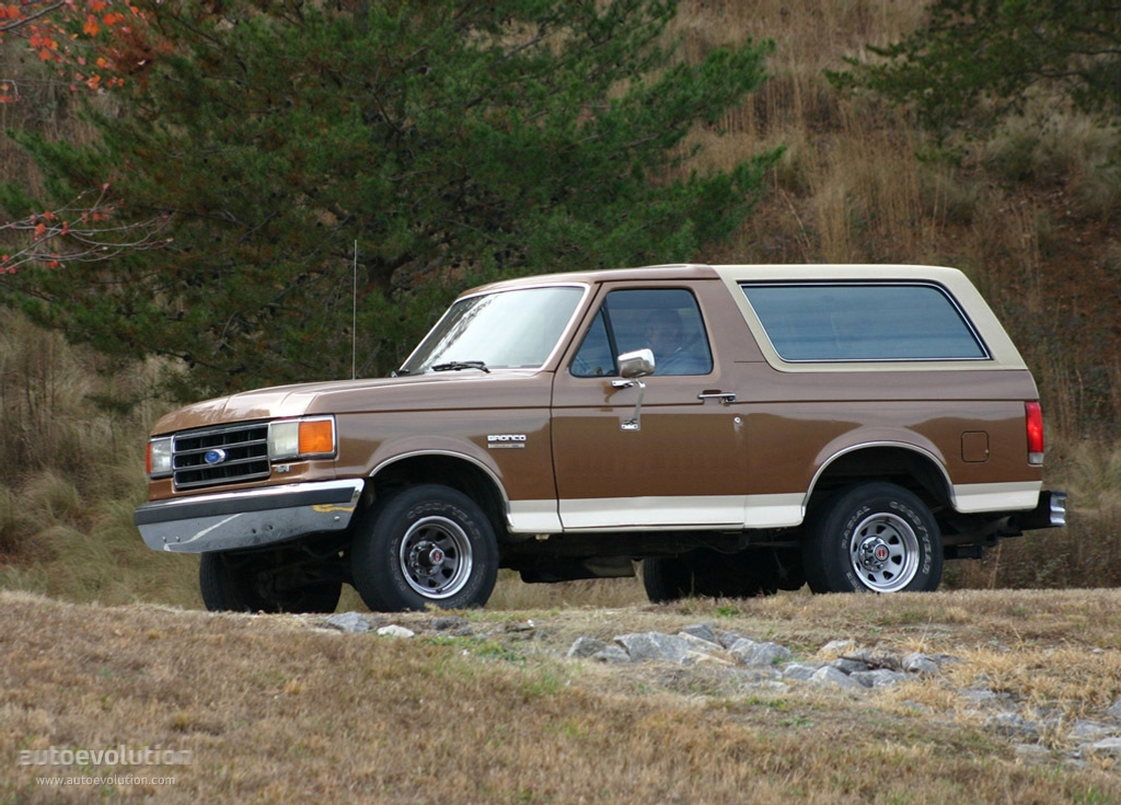 1991 Ford Bronco #21