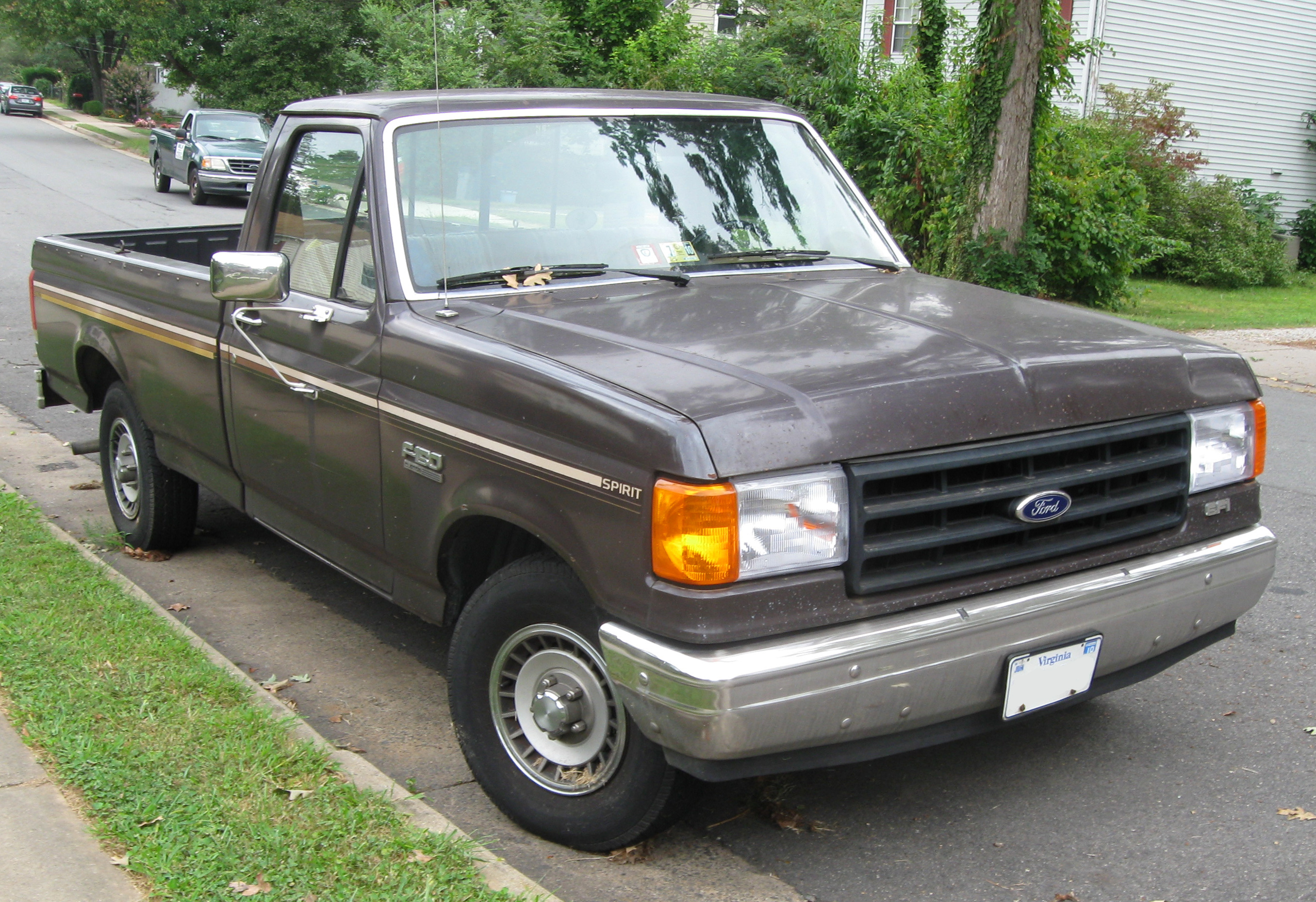 1991 ford f 150 photos informations articles. Black Bedroom Furniture Sets. Home Design Ideas
