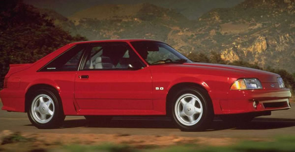 1991 Ford Mustang #20