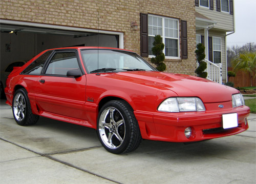 1991 Ford Mustang #16