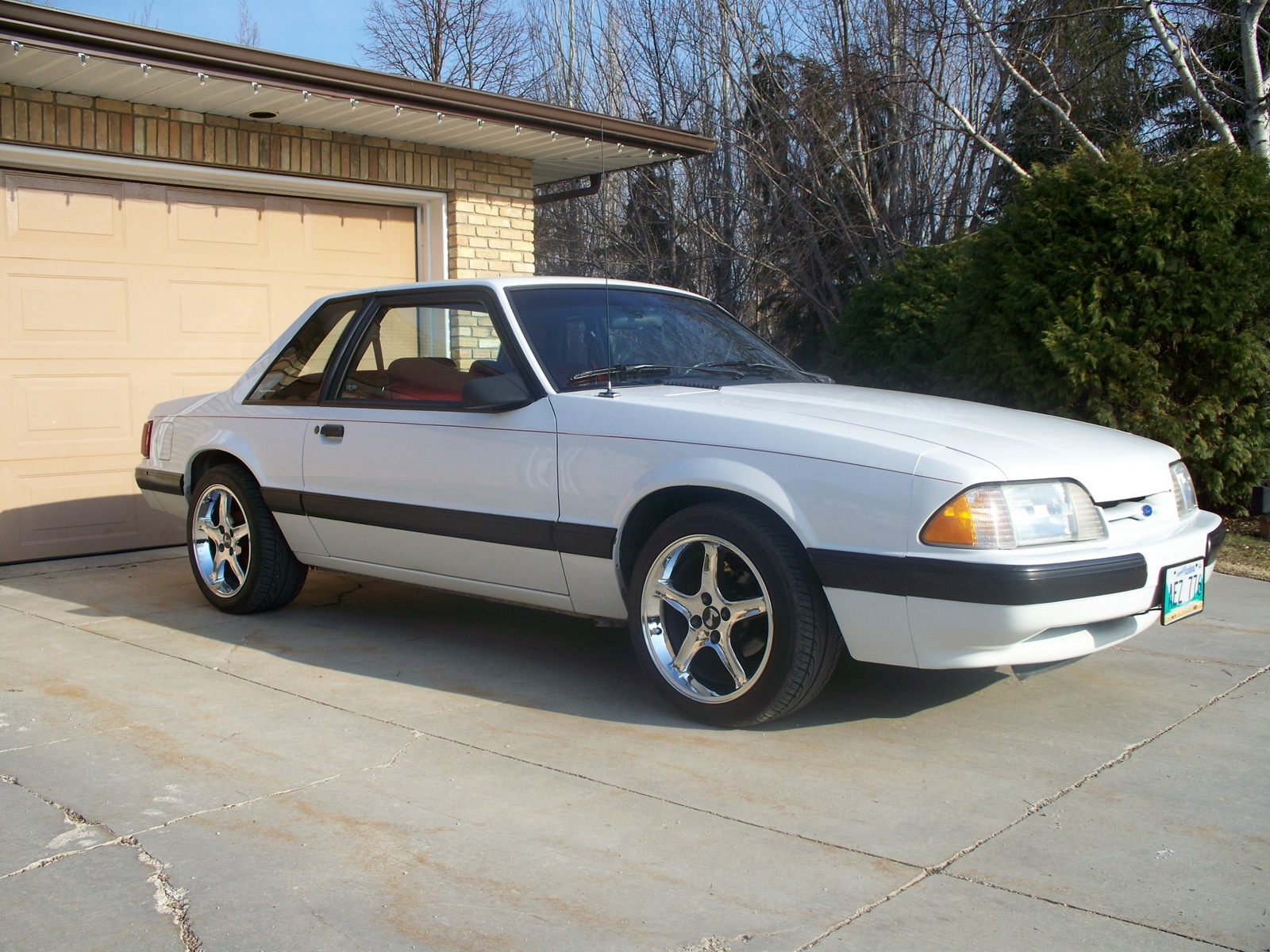 1991 Ford Mustang #18