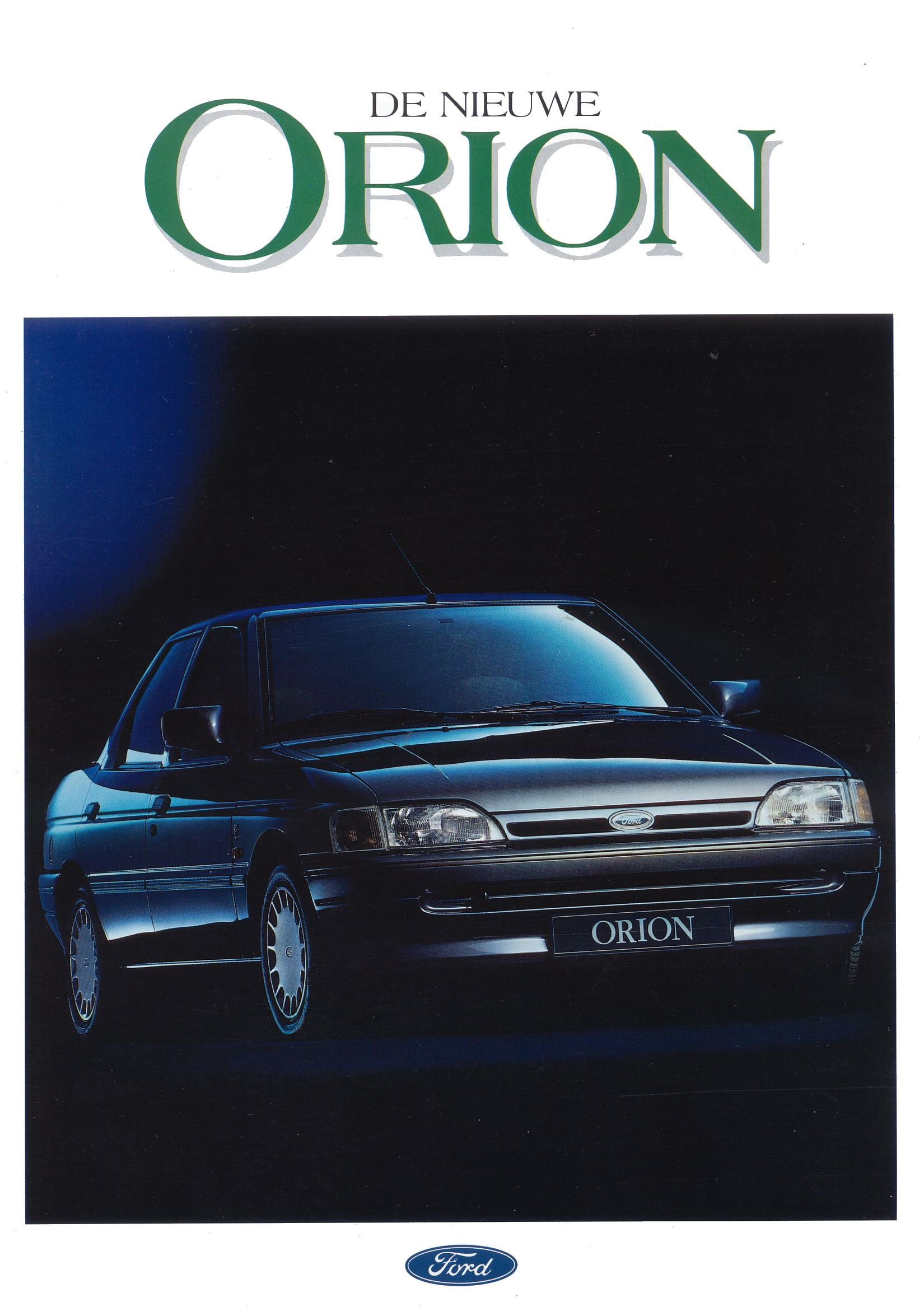 1991 Ford Orion #15