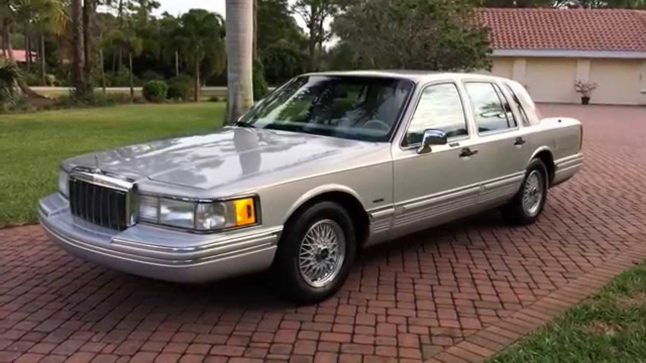 1991 Lincoln Town Car Photos Informations Articles Bestcarmag Com