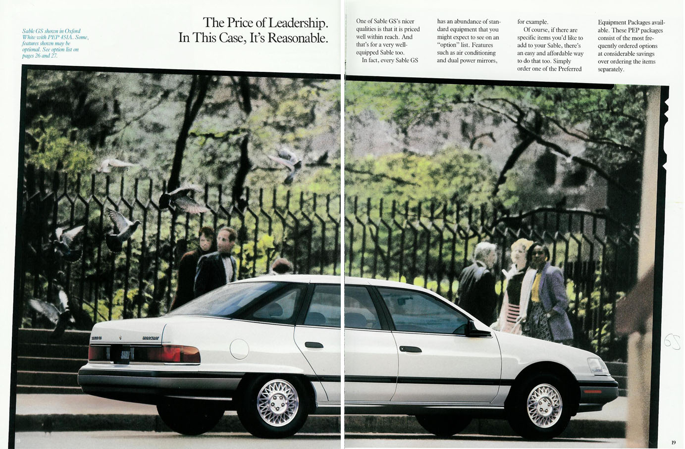1991 Mercury Sable #19