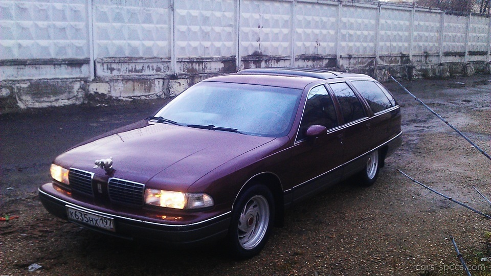 1991 Oldsmobile Custom Cruiser #19