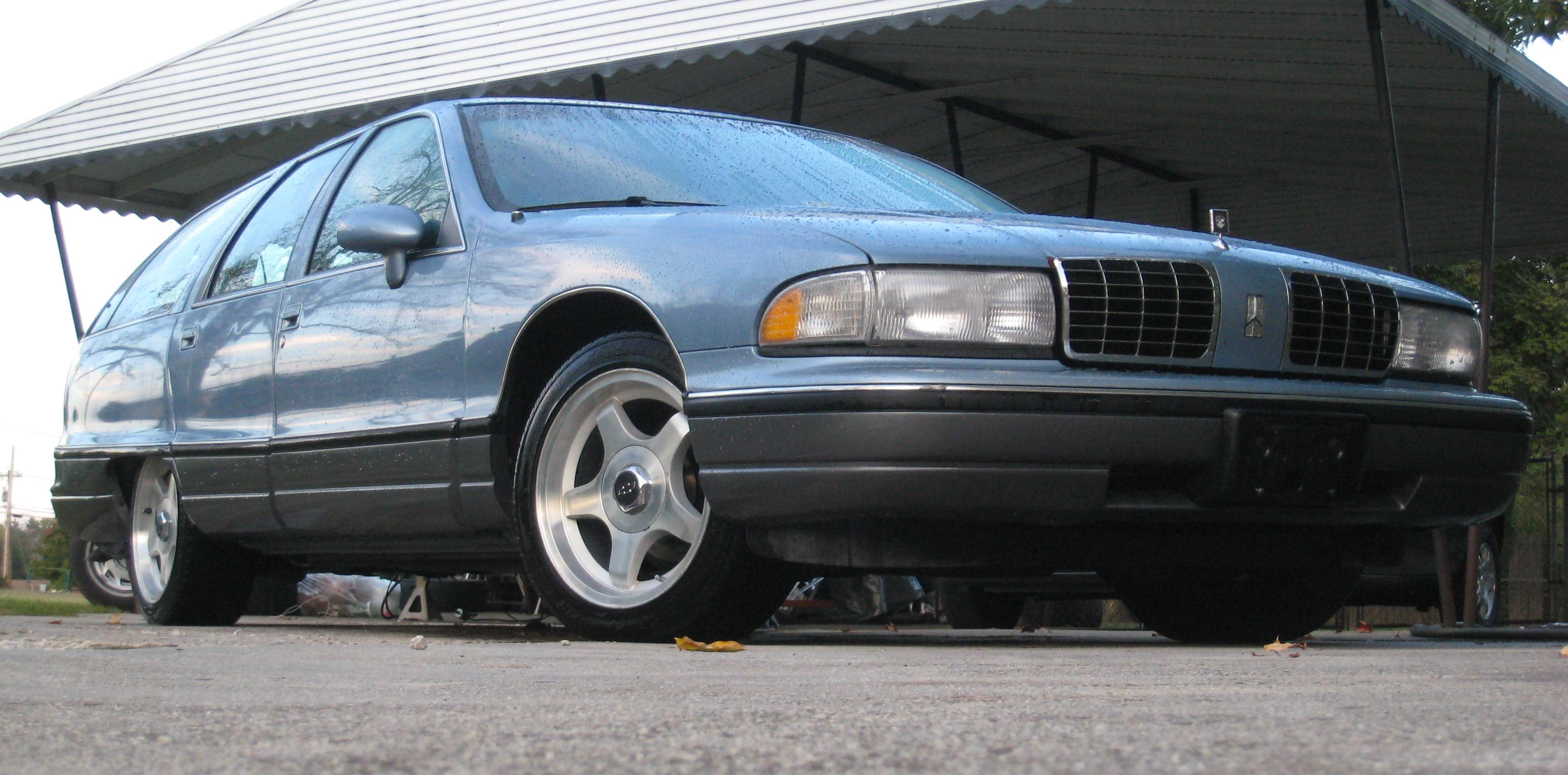 1991 Oldsmobile Custom Cruiser #15
