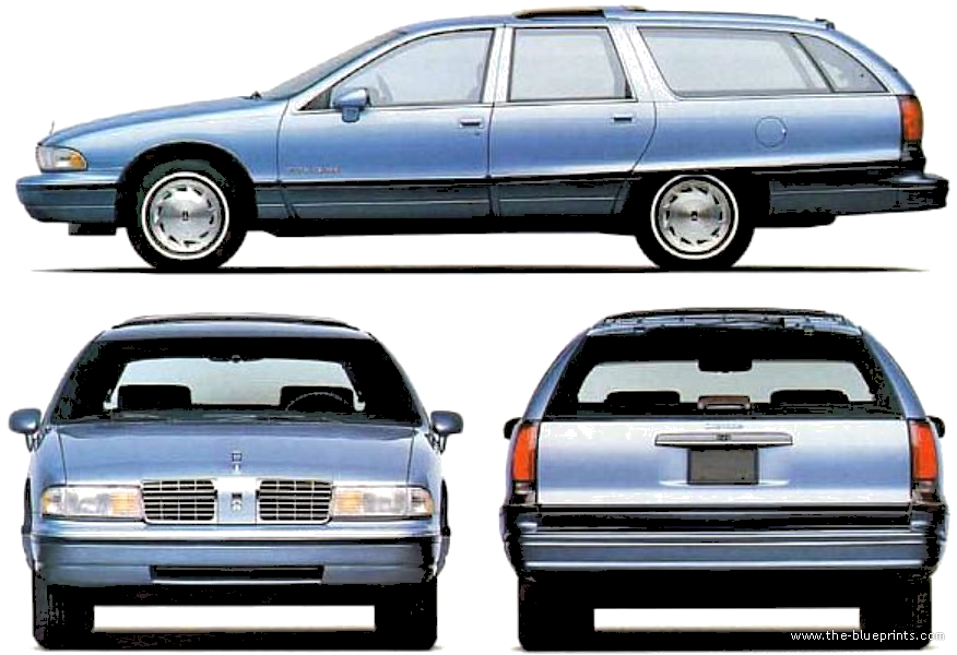 1991 Oldsmobile Custom Cruiser #18
