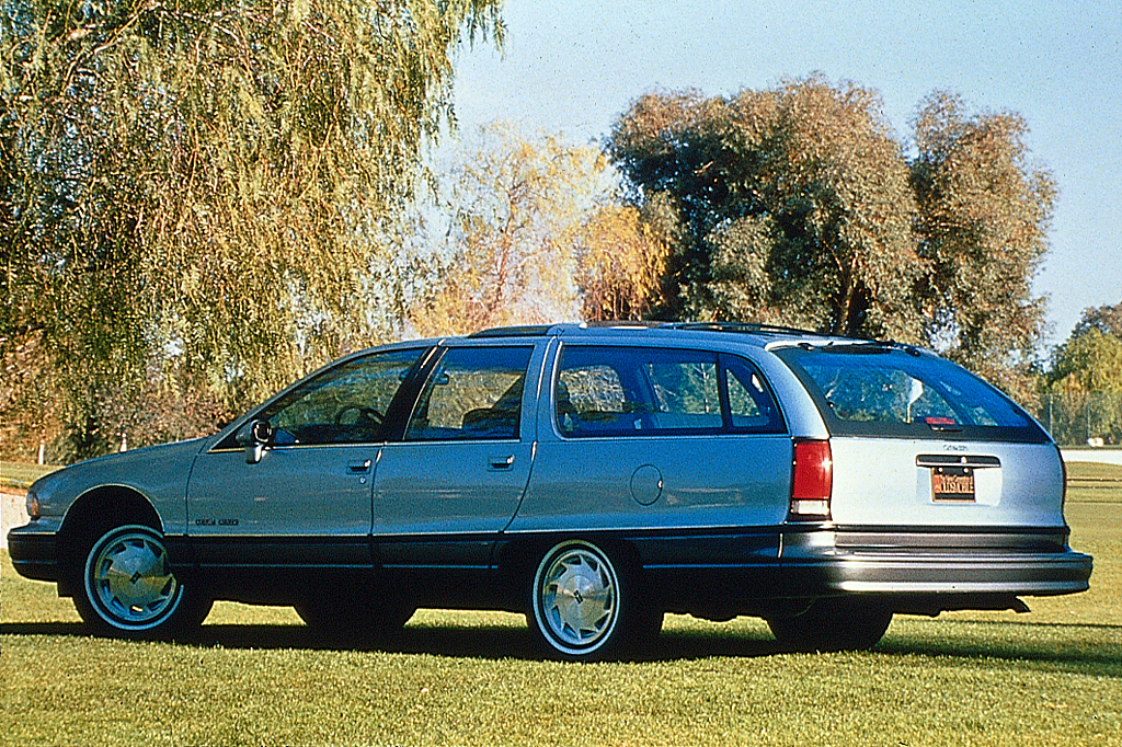 1991 Oldsmobile Custom Cruiser #16