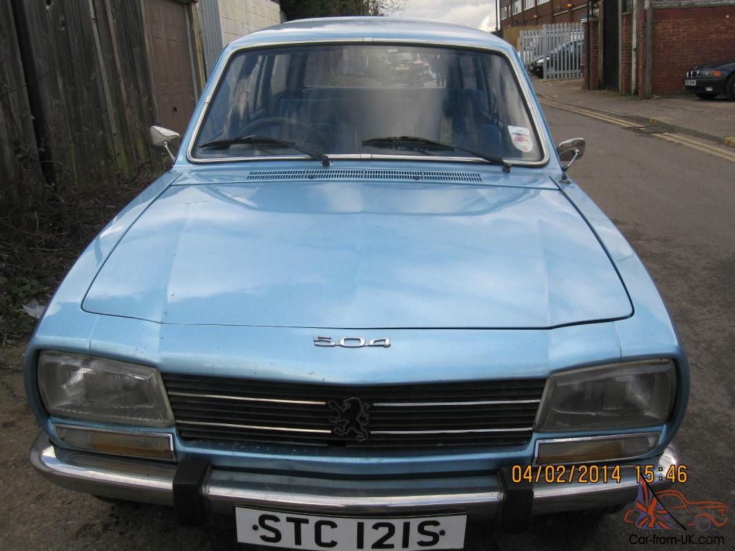 1991 Peugeot 504 Photos Informations Articles Bestcarmag Com