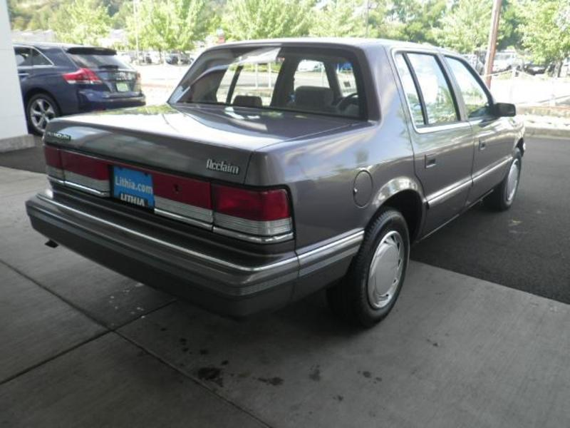 1991 Plymouth Acclaim #15