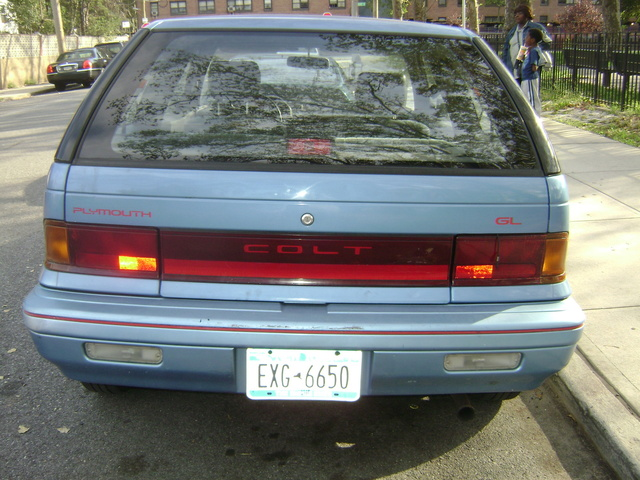 1991 Plymouth Colt #11