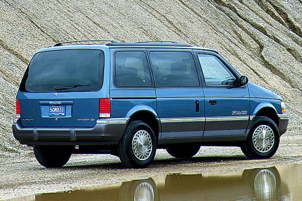 1991 Plymouth Voyager #18